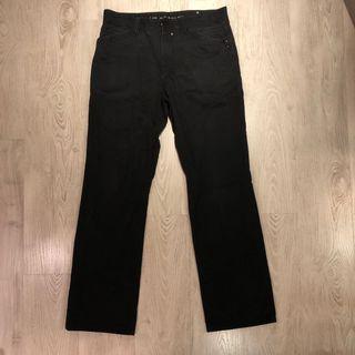 Esprit 黑色直筒褲
