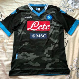 Napoli FC 2013 third kit jersey Special Edition camo print S
