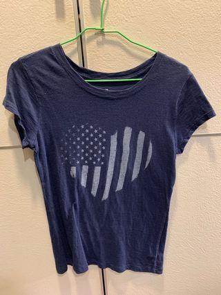 《舊衣滿$500免運》 GAP 美國圖案T-shirt