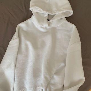 White Hoodie Zara