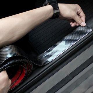 5D Carbon Fiber Rubber Car Style Design Interior Exterior Design Shiny