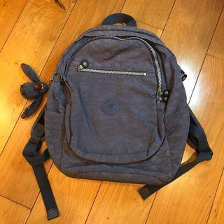 Kipling Purple Backpack