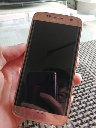 二手無傷 Samsung S7 32G 粉色