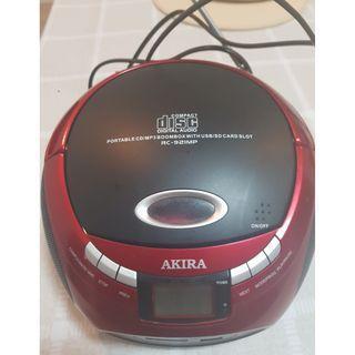 AKIRA RC-921MP Portable CD player