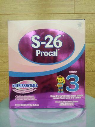 Susu S26 / S-26 Procal 3 vanilla