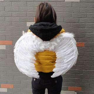 Angel Wings Feather Costumes Theater School Kids Party Occasion Dress up