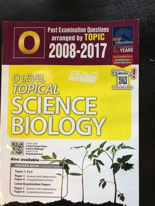 🚚 O Level Topical Science Biology