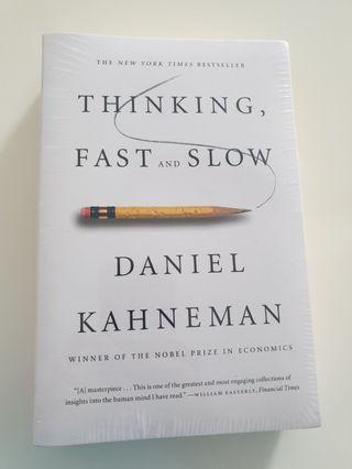 Thinking Fast and Slow Book - new and in plastic wrap.