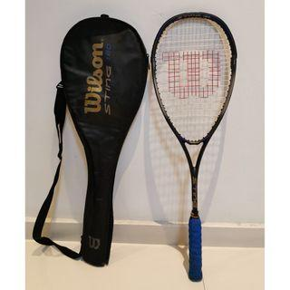 Wilson Sting 180 Squash Racket with cover