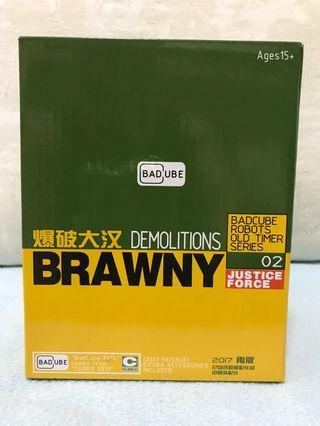 Transformers G1 MP Brawn Badcube Brawny