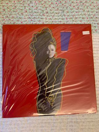 Janet Jackson - Control US first press vinyl LP