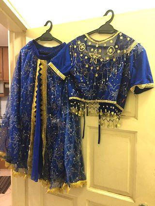 Indian Dress Lengha with accessories