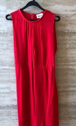 Bimba Y Lola red dress