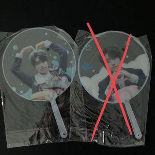 [ WTS ] Stray Kids Han Jisung Transparent fans (by Beautiful Day's)
