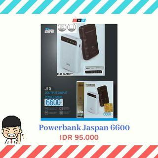 Powerbank Jaspan 6600 mah