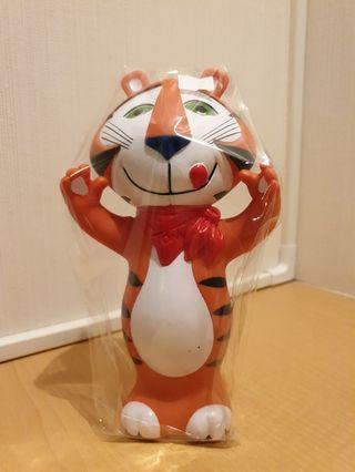 American Kelloggs Advertising Mascot Tony The Tiger Coin Bank