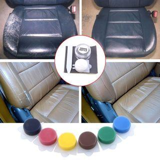 Car leather repair kit, many colours