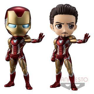 (預售6月25到貨) 全新日版鋼鐵俠 Iron man - Qposket Figure - Marvel系列