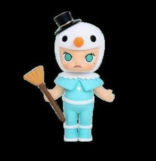 Molly Kenny's works kennywork pop mart christmas 聖誕節 sonny angel pucky雪人 snowman