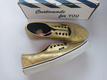 Vans Authentic Gold Checker