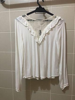 H&M lace top