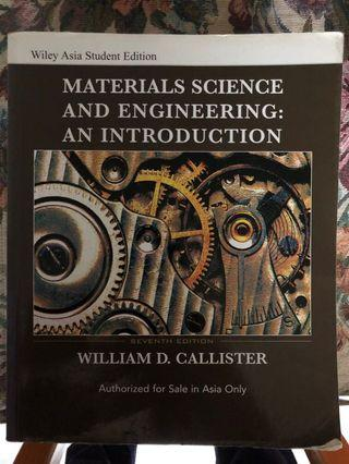 Material Science And Engineering: An Introduction (7th Edition)