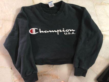 Authentic Champion Crop top