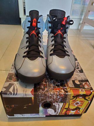 Air Jordan 6 Retro SP 反光銀色