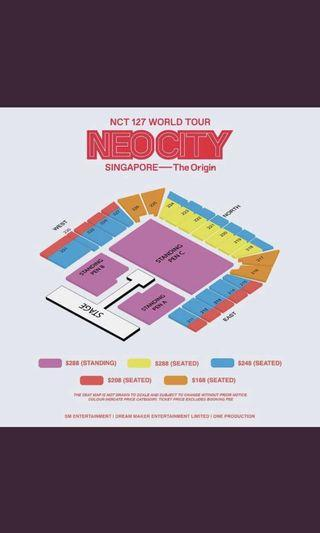 🚚 [HTB]nct 127 tickets!!