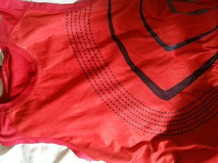 Adidas red shirts. Logo disappear