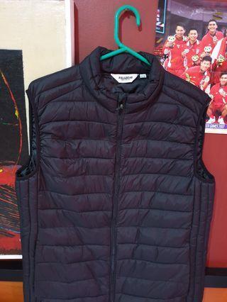 Winter Vest puffer Pull and Bear Black