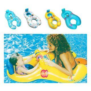 Baby Parents Inflatable Ring Double Floater