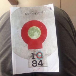 Novel 1Q84 by haruki murakami