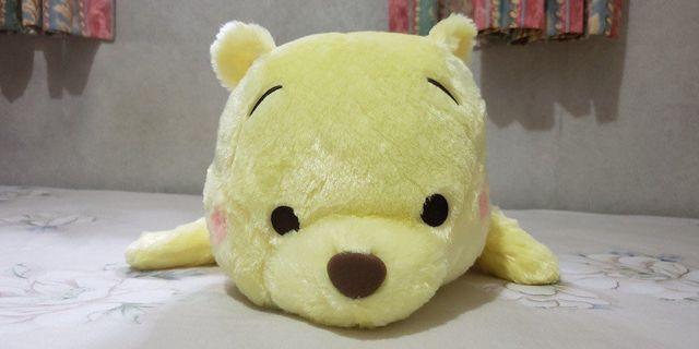 日本Namco正版 Winnie The Pooh 小熊維尼 50cm 大公仔 全新