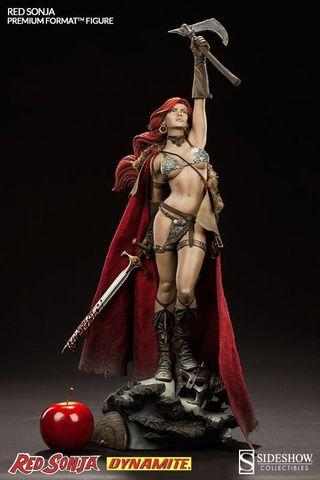 Sideshow 1/4 Red Sonja