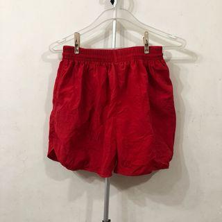 New! Red beach shorts