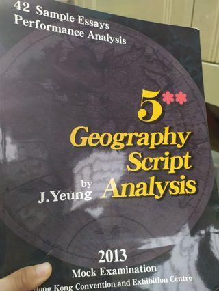 Geography map reading同hkdse analyse