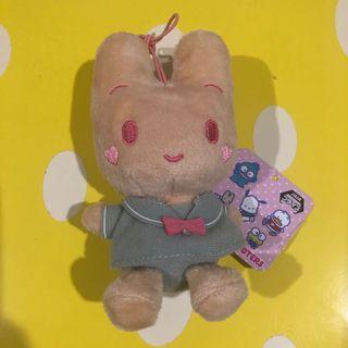 日本正版 Namco Sanrio Marron Cream 茉莉兔 公仔 吊飾