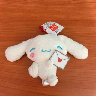 日本正版 Namco Cinnamoroll 玉桂狗 公仔 吊飾 Sanrio