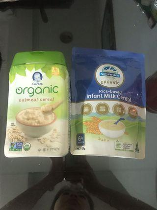 Baby Organic Cereal