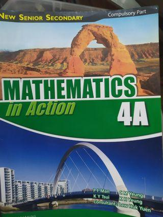 Mathematics in action 4A4B5A5B