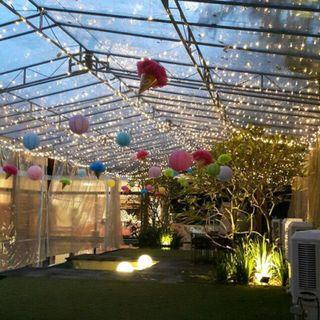 Fairy Light Decorations, Table, Chairs and Tentage for Rent