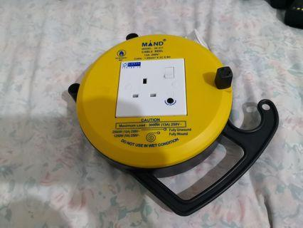 Cable reel / extension wire - 6m