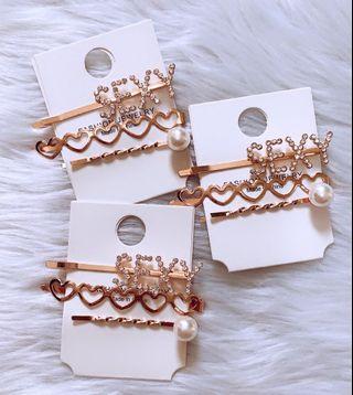 Hairclip set