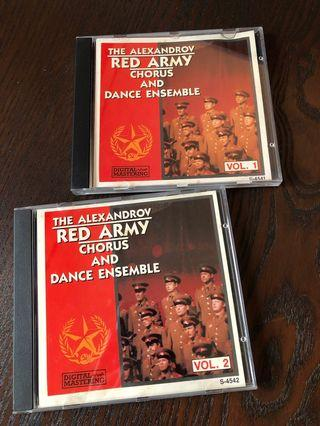 CD x 2 Red Army, made in Canada.