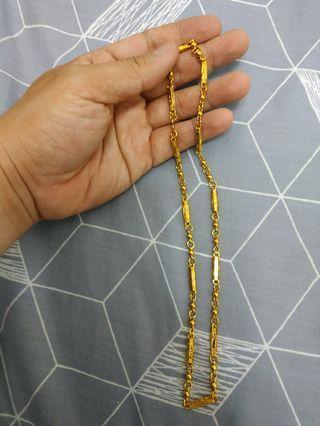🚚 金色項鍊(可私訊議價)Golden necklace (can be negotiated by private message)