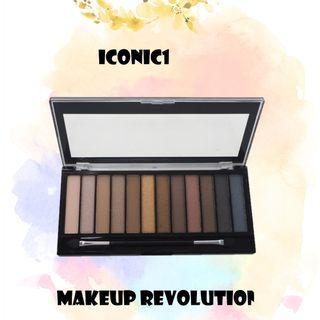 🚚 ✨眼影系列✨Makeup Revolution Redemption Palette Essential - Iconic 1 2 3 眼影盤