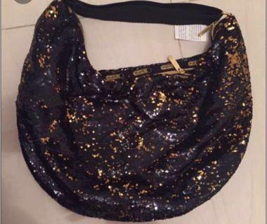 LeSportac Gold & block Sequin