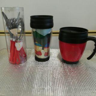 Travel Insulated Mugs For Tea/Coffee & Soup