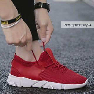 [READY STOCK] UNISEX SPORTS SHOES (RED)